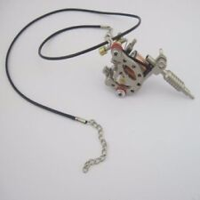 New Arrival Two Mini Toy Tattoo machine Gun With Chain Pendant Ornament Supply
