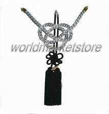 New Vip Charm Junction Produce JDM Fusa Black Kiku JP Knot Silver Kin Tsuna Rope