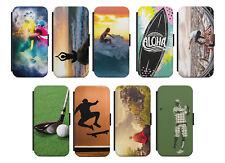 Samsung Galaxy Flip Etui Tasche Handyhülle Case Cover Schutz Sport Motiv Bild s1