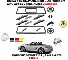 FOR PORSCHE BOXSTER 2009-> TIMING CAM CHAIN KIT + OIL PUMP WITH GEARS COMPLETE