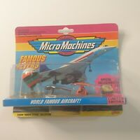 Micro Machines, Galoob, Famous Flyers, Good Condition, BNIB Collection #6 1992