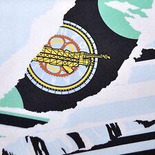 100% New - Kenzo Silk Scarf Sky Blue Logo Print Large Square GENUINE 160391