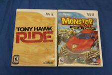 """Lot Of 2 Wii Games """"Hollywood Squarest & Ea Sports active:more workouts"""""""