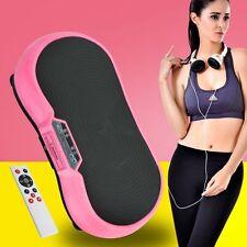 Vibration Platform Whole Body Fitness Exercise Machine Plate Massager W/ Remote