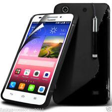 Fundas Para Huawei Ascend G color principal negro para teléfonos móviles y PDAs