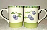 Tabletops Unlimited Olive Garden Hand Painted Collection 2 Coffee/Tea Cups