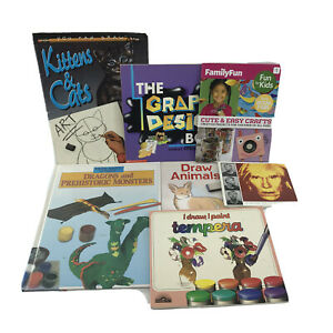 Non-fiction Kids Books About Art & Design RL 4 Lot of 7 Pre-owned  -SB