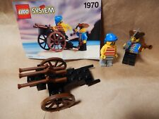 Vintage Used Lego set 1970 Pirates Gun Cart w original directions from 1993 good