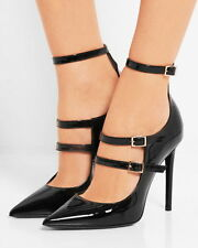 TAMARA MELLON Possession sleek high-shine Patent-leather Pumps heels 40,5 black
