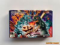 GODZILLA Kaiju Daisakusen GBA Nintendo Game Boy Advance JAPAN