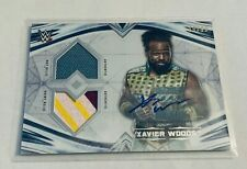 B16,212 - 2020 Undisputed WWE Dual Relic Autograph Xavier Woods #99/99