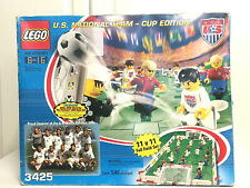NEW Lego 3425 Sports Football Soccer US National Team Cup 2002 Set