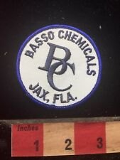 BASSON CHEMICALS JAX FLA. Patch - Jacksonville Florida S77B