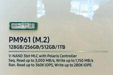 Samsung 960 Evo Series (OEM) 128GB NVMe M.2 NGFF SSD PCIe 3.0 x4 80mm - (PM961)
