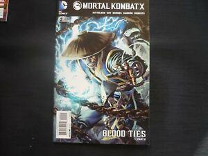 Mortal Kombat X 2  (b28) DC 2015 NM