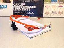 Oakley Radarlock XL Blood Orange w White Oakley Icons - Regular Fit SKU# 9170-02