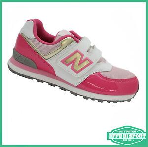 Scarpe da bambino sneaker bianchi New Balance   Acquisti Online su ...