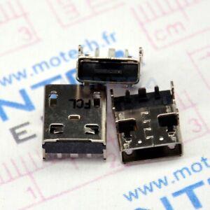 Prise connecteur de charge Asus X205T DC Power Jack alimentation