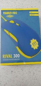 Fallout 4 Vault 111 Vault-Tec Rival 300 gaming Mouse NIB New in Box