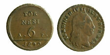 s294_1) Napoli Regno  Ferdinando IV - 6 Tornesi 1800 GRAMMI 21,06