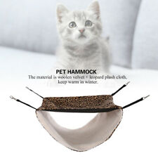 Pet Hammock Window Cushion Bed Hanging Shelf Cat Perch Seat Warm Nest Swing