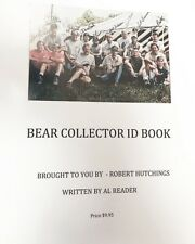 Bear Collector ID Book on his bows , archery Fred Bear Archery