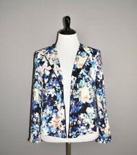 WORTHINGTON NEW $60 Multi-Color Floral Cropped Open Blazer Jacket XL