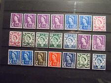 GB 1958-71 Regionals Collection~Scotland~(21)~Unmounted Mint~UK Seller