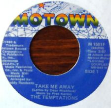 Temptations - Take me away / There's more where that came from - MOTOWN