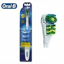 ORAL B B1010 Cross Action Power Dual Clean Duracell Electric ToothBrush