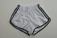 Frz. vintage shorts taille s-m NEUF short short sport Nylon Brillant shiny Blanc