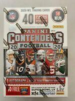 New 2020 Panini Contenders NFL Football 88-Card Blaster Box (Herbert Tua Burrow)