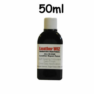 50ml Leather Paint Dye restorer for shoes, sofa, sneakers Restoration KIT
