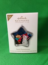 Hallmark 2011 Sweet Snowmouse KOC Event Ornament SIGNED by Artist RARE-NIB