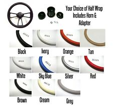 El Camino Steering Wheel Black  Billet  Your Choice of Color Full Kit Included