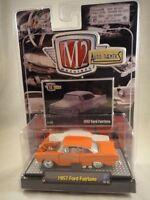M2 Machines Auto-Thentics 1957 Ford Fairlane Orange NEW 1:64 Release 2