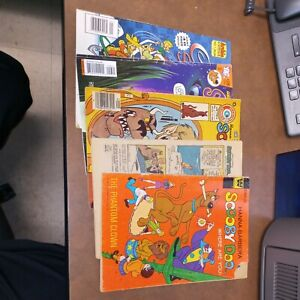 Scooby Doo 5 Issue Bronze Modern Age Comics Lot Run Set Collection gold key dc