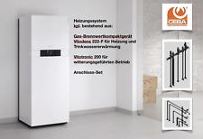 Viessmann Paket Vitodens 222-F 13 kW Vitotronic 200, 130l, Aufputz oben B2SB013