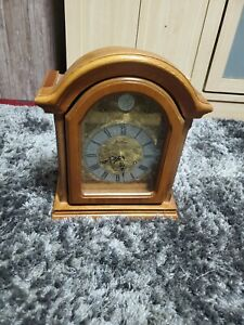 Bentima Tempus Fugit Mantle Clock. Westminster Chimes. Battery Operated.