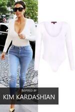 Camisas y tops de mujer de manga larga color principal blanco de viscosa/rayón