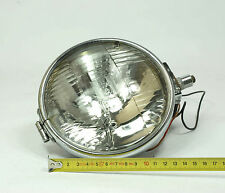 "VINTAGE Genuine WORKING LUCAS 5 3/4"" SEALED BEAM HEAD LIGHT/ SPOT LAMP x1 (1)"