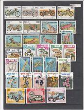 Sammlung gestempelt ca. 1984-87 auf 5 großen Steckseiten