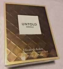 Untold Absolu  Eau De Parfum Elizabeth Arden 100ml~Authentic.