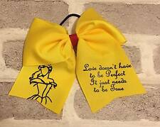 Princess Bows Girls Hair Bow Cheer Dance Cheerleading