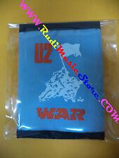 PORTAFOGLIO Wallet U2 War GRIGIO GREY 10x14 cm BONO VOX no*cd dvd lp mc vhs live