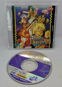 Flash Hiders Video Game for PC Engine Super CD-ROM² NTSC-J Japanese
