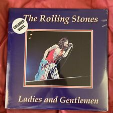 THE ROLLING STONES LADIES AND GENTLEMEN LIMITED NUMBERED COLOURED WAX
