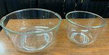 OSTER Kitchen Center Regency Clear Glass Mixing Bowls Replacement Large & Small