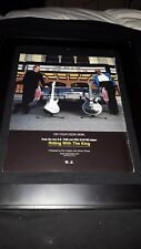 Eric Clapton B.B. King Riding With The King Rare Radio Promo Poster Ad Framed!