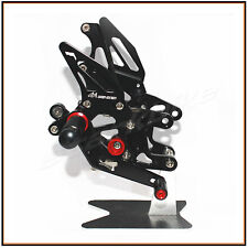 Full Adjustable Rearset Rear Sets Foot Pegs HONDA CBR1000RR 2012-2015 NON ABS BK